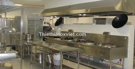 Khu bếp nhà hàng, bếp ăn công nhân nhà máy khu công nghiệp