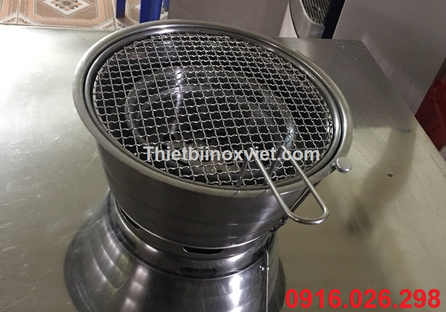 Phân phối bán buôn các loại bếp nướng than hoa âm bàn, lò ướng than củi tại bàn
