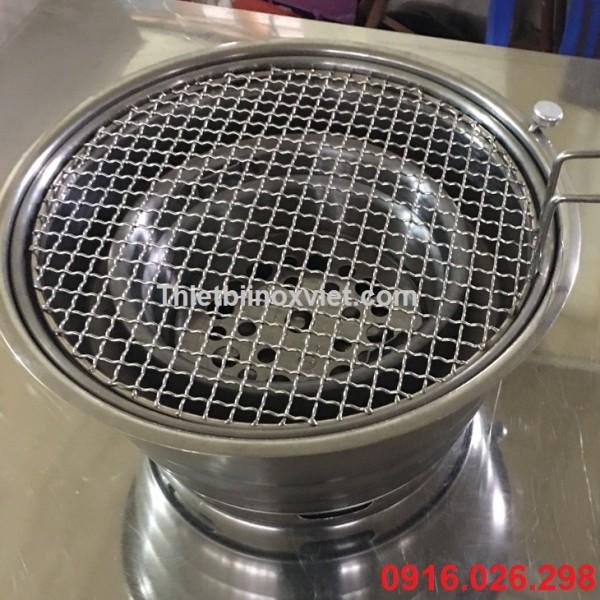 bếp nướng than hoa âm bàn hút dương bếp nướng than củi không khói giá rẻ tại hà nội