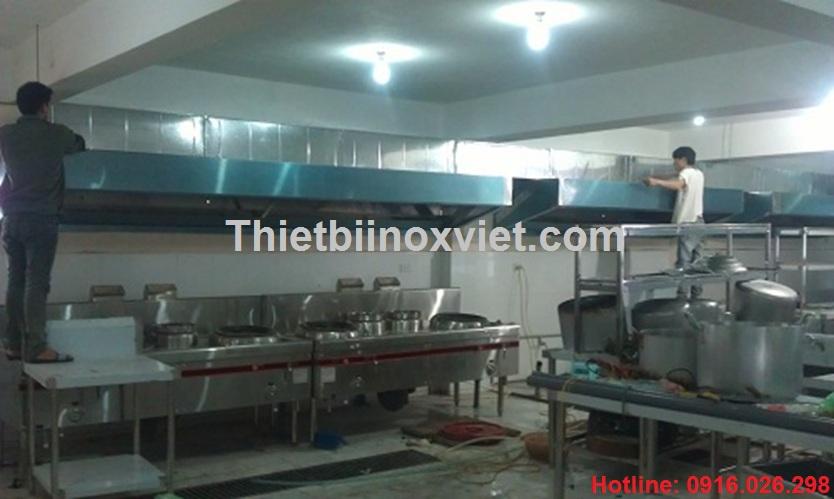 Hệ thống hút mùi bếp nhà hàng khách sạn, bếp ăn công nhân nhà máy khu công nghiệp