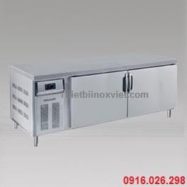 Tủ bàn lạnh 2 cánh inox | Tủ bàn mát 2 cánh inox | Tủ lạnh bàn thớt hai cánh inox