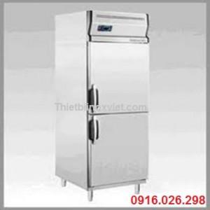 Tủ lạnh bảo quản thực phẩm bếp nhà hàng, tủ mát 2 cánh inox đứng