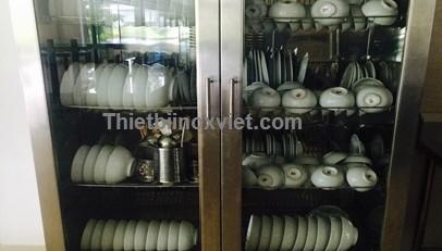 Tủ sấy bát đĩa công nghiệp | Tủ diệt khuẩn công nghiệp
