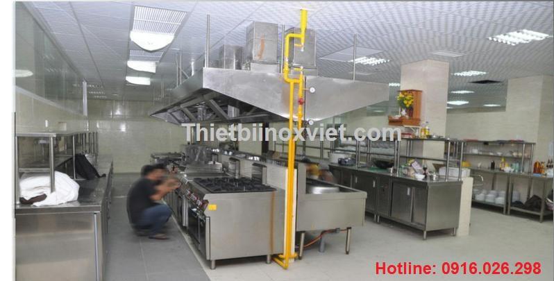 Hệ thống bếp ăn công nghiệp, bếp ăn nhà hàng khách sạn, bếp nhà máy