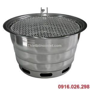 Bếp nướng tại bàn bằng than hoa, Bếp lẩu nướng không khói bằng than hoa, Giá bếp nướng không khói dùng than hoa