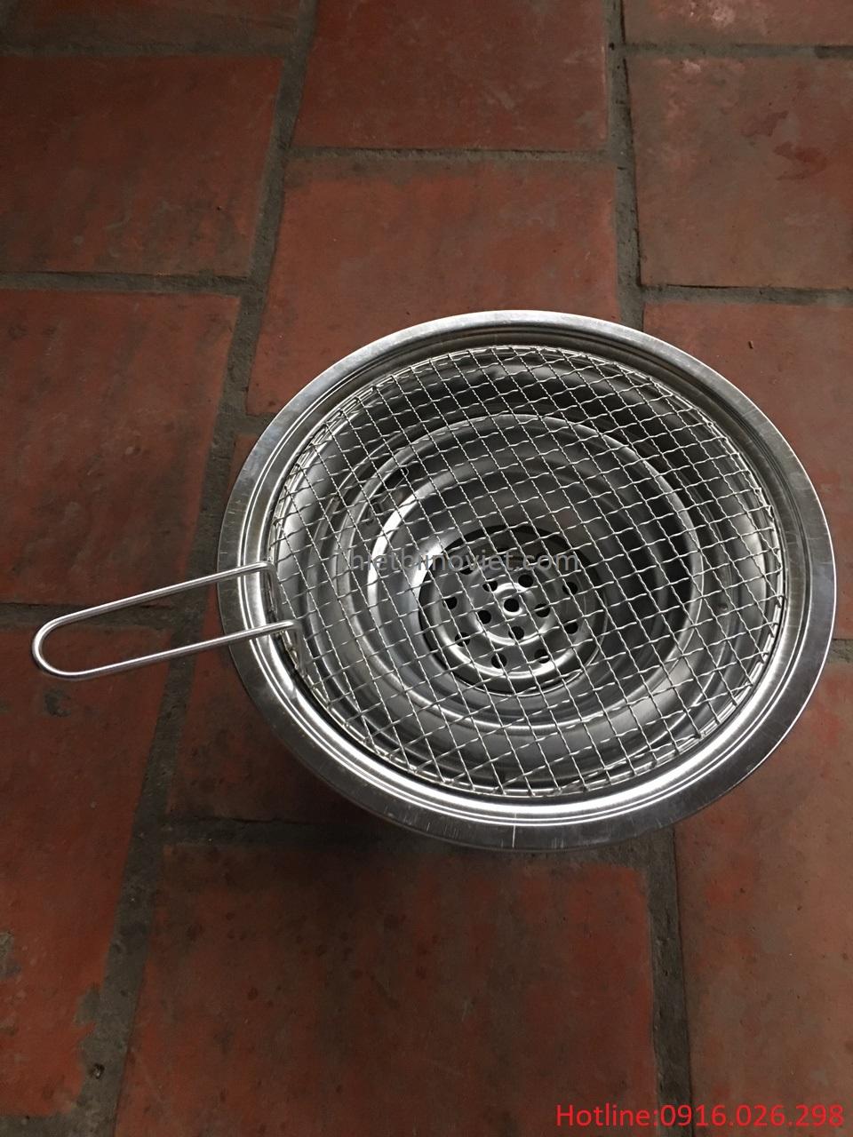 Bếp nướng than hoa ngoài trời giá rẻ