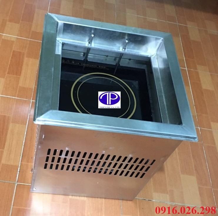 Bếp lẩu từ âm trong nồi lẩu thang máy nhà hàng công suất 3000W