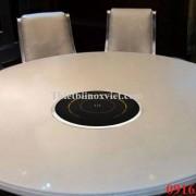 Bếp từ lẩu âm bàn tròn công suất 2000w