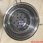 Bếp nướng than hoa không khói kèm vỉ lưới