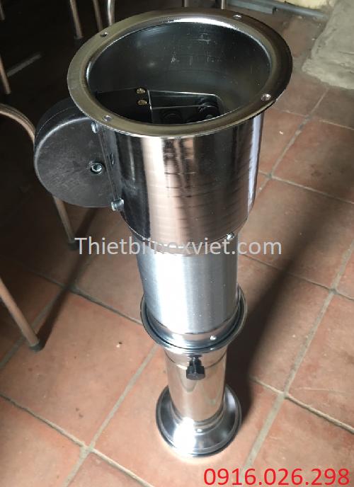 Ống hút mùi màu bạc loại mềm giá rẻ nhất tại Hà Nội