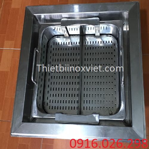 Bếp lẩu thang máy khi lắp đặt trên mặt bàn