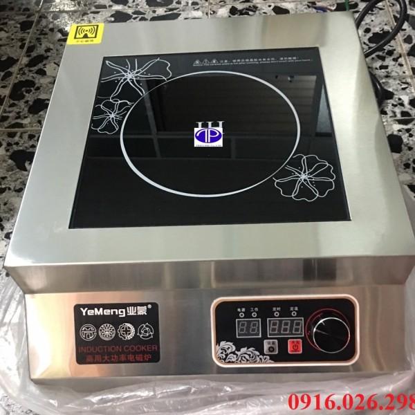 Ảnh thực tế bếp từ công nghiệp mặt phẳng công suất 5500 w