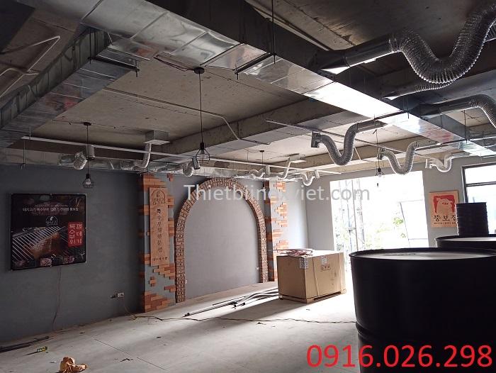 Hệ thống đường ống bếp nhà hàng