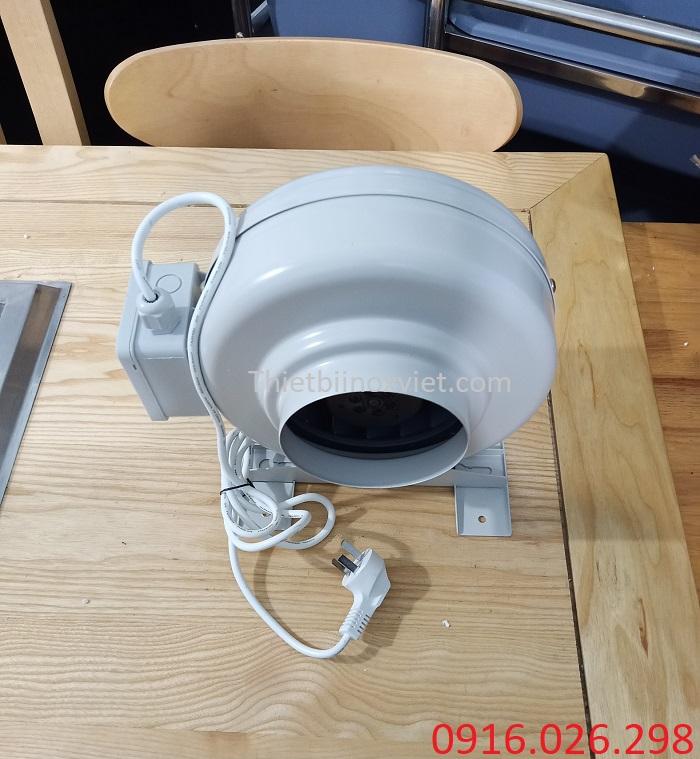 Quạt nối ống thông gió bếp công nghiệp