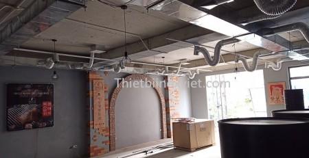 Hệ thống đường ống hút khói của nhà hàng