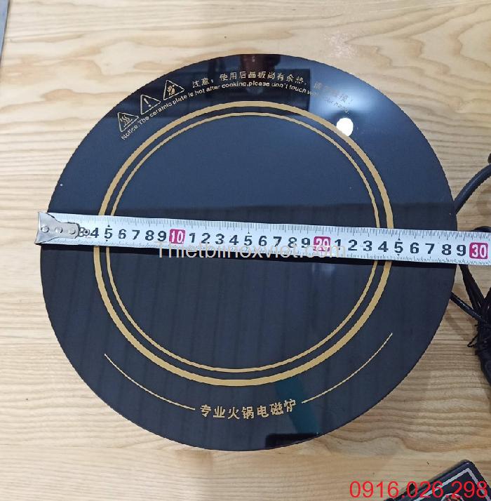 Kích thước mặt bếp từ âm bàn tròn