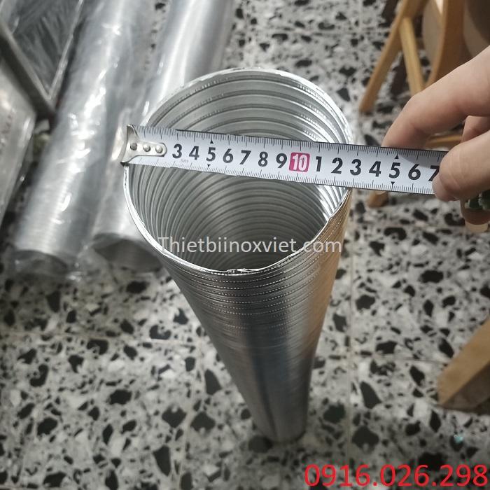 Cung cấp ống gió nhôm nhún D125