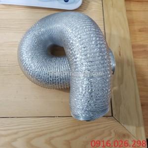 Địa chỉ bán ống gió bạc mềm D125