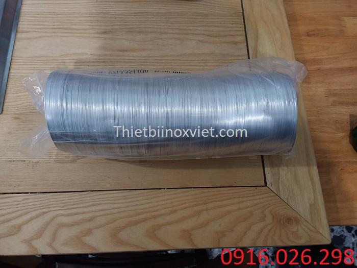 Gía bán ống gió bạc mềm D100