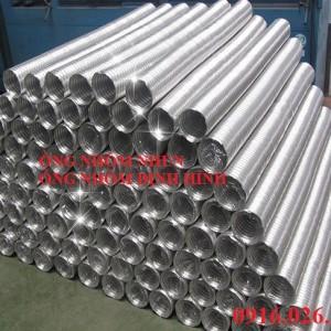 Chuyên cung cấp các loại ống nhôm nhún cho hệ thống thông gió, hệ thống điều hòa