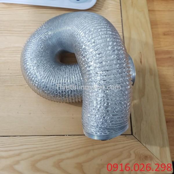 Ống gió bạc mềm D100 giá tốt