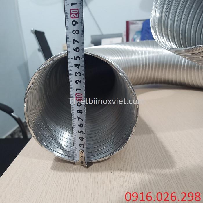 Cung cấp ống nhôm nhún D150 nhà hàng
