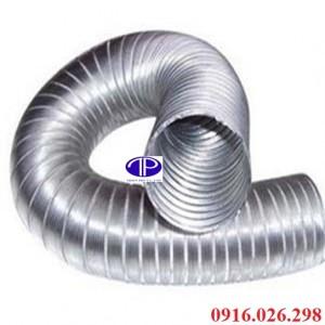 Cung cấp các loại ống hút khói, ống bạc mền, ống nhôm nhún các loại kích thước d100, d125, d150, d 200