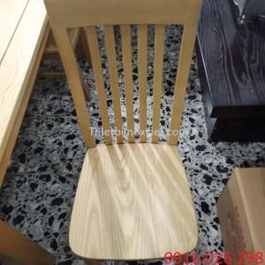 Ghế gỗ dành cho bàn ăn nhà hàng lẩu nướng