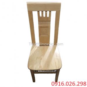 Ghế gỗ nhà hàng lẩu nướng