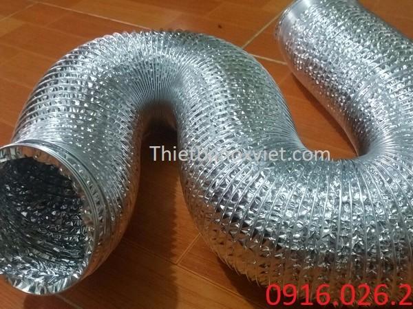 Gía bán ống gió bạc mềm D300