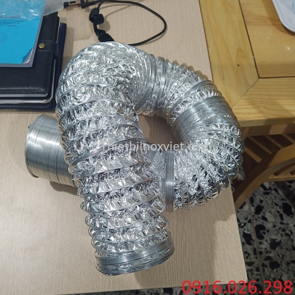 Cung cấp ống gió bạc mềm D150