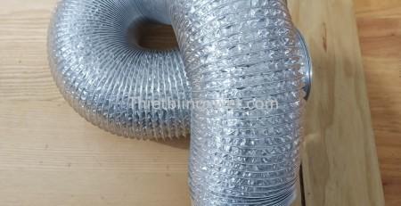 Ống gió bạc mềm D100 tại Hà Nội