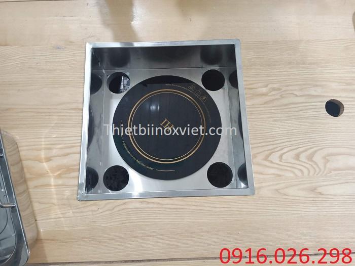 Cung cấp khung bếp lẩu âm bàn cho nhà hàng
